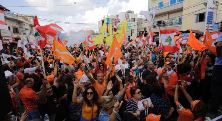 مصادر الجديد: التيار الوطني ابدى امتعاضه من تاييد حزب الله لميقاتي لرئاسة الحكومة