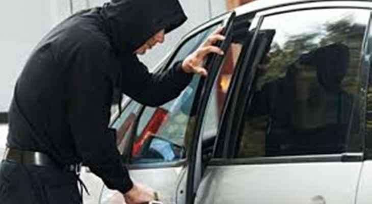 النشرة: سرقة سيارة من أمام سوق الخضار عند مدخل مدينة بعلبك الجنوبي
