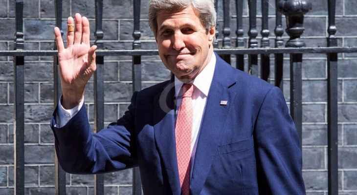"""كيري: أميركا """"ستدرس بعناية"""" أفكار بوتين بشأن أجندة المناخ"""