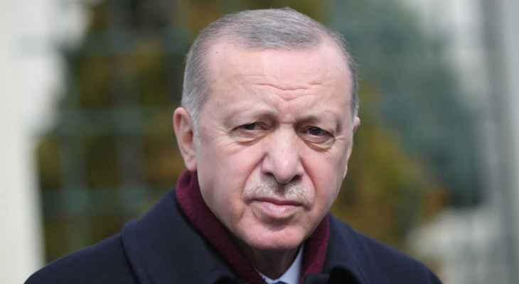 اردوغان أكد حشد الإمكانات كافة للسيطرة على حرائق الغابات في تركيا