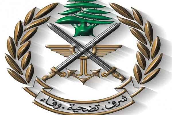 الجيش: توقيف أشخاص وضبط كمية من المواد المعدة للتهريب إلى سوريا