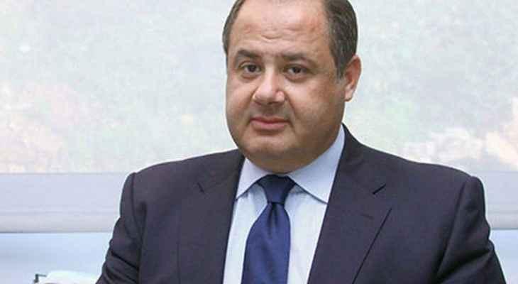 عربيد: نشدد على أهمية الدور الفرنسي في مساعدة لبنان للخروج من محنته