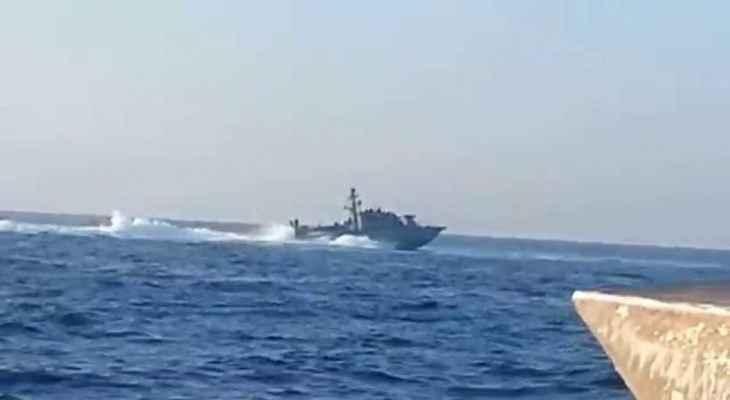 الجيش: زورق حربي إسرائيلي خرق المياه الإقليمية اللبنانية مقابل رأس الناقورة لمدة 3 دقائق