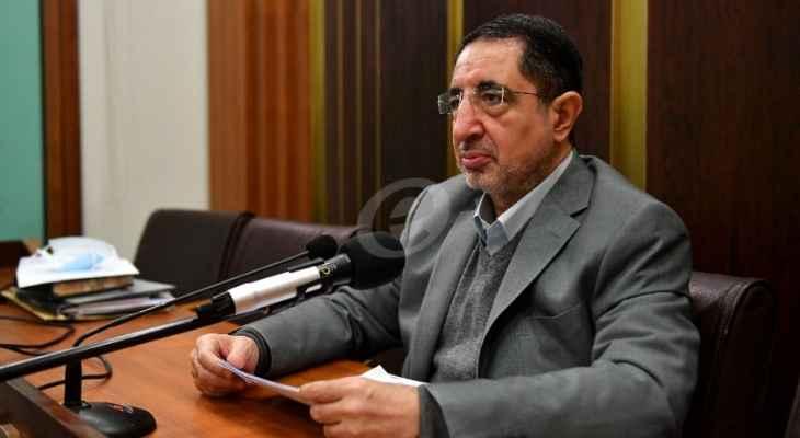 الحاج حسن: نحرص على تشكيل الحكومة لأن الوضع لم يعد يحتمل