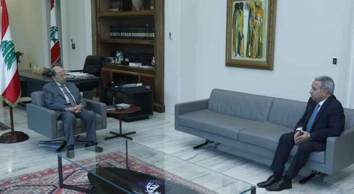 الرئيس عون يطّلع من مشرفية على خطة وزارة السياحة للموسم الحالي في ضوء توافد المغتربين والسّياح