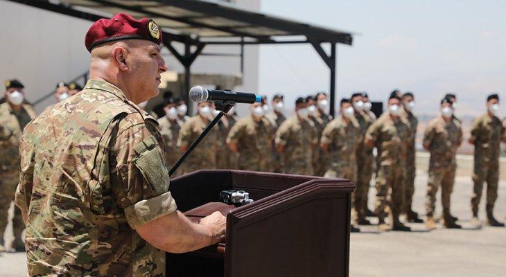قائد الجيش: يبدو أن الوضع يزداد سوءا والأمور آيلة للتصعيد لأننا أمام مصير سياسي واجتماعي مأزوم