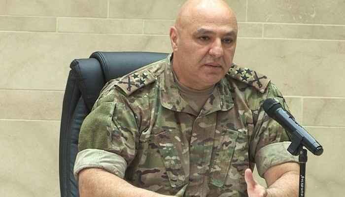 قائد الجيش: في 4 آب الماضي امتزجت دماء العسكريين والمدنيين بانفجار هزّ العالم أجمع
