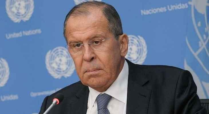 لافروف: الغرب يريد تقويض الاستقرار السياسي في روسيا من خلال مزاعم لا أساس لها