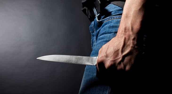 3 جرحى نتيجة إشكال فردي تطور إلى طعن بالسكاكين في نزلة صيدون في صيدا