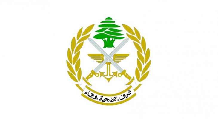 الجيش: توقيف أشخاص وضبط كمية من المحروقات المعدة للتهريب