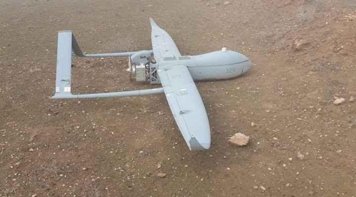 العثور على طائرة إسرائيلية مسيرة محطمة بأرض زراعية في بيت لاهيا شمال غزة