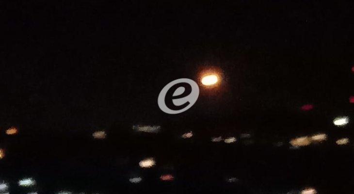 النشرة: الجيش الإسرائيلي أطلق عدة قنابل مضيئة فوق سهل مرجعيون شرقي مستعمرة المطلة