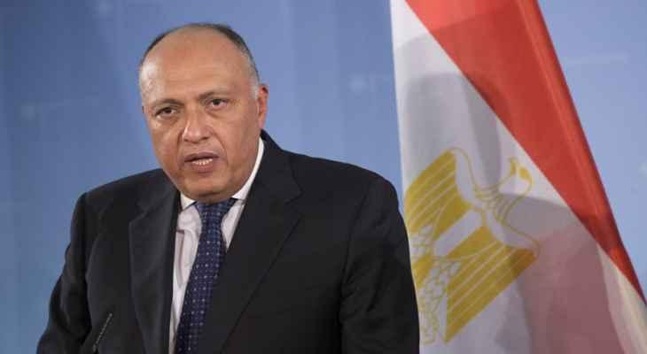 سامح شكري لمجلس الأمن: مصر تواجه تهديدا وجوديا بسبب أزمة سد النهضة