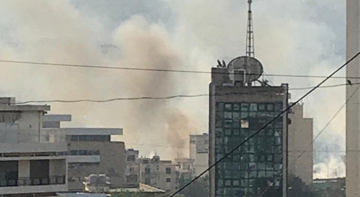 النشرة: اندلاع حريق بمحيط جامعة الحكمة فرن الشباك لم تعرف اسبابه بعد