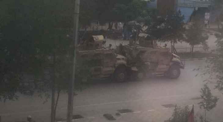 انفجار كبير بالقرب من السفارة الإيرانية وسط العاصمة الأفغانية كابول
