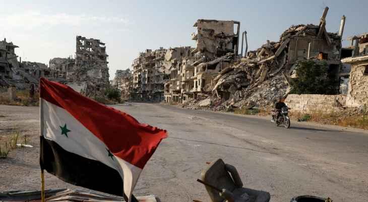 وكالة الأنباء السورية: انفجار بحافلة عسكرية في دمشق وأنباء عن وقوع إصابات