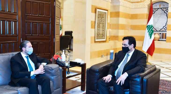 كرامي بعد لقائه دياب: آلية صرف الـ15 مليار ليرة ستكون قريبة بالتعاون مع بلدية طرابلس