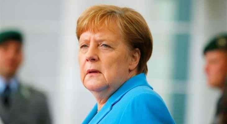 ميركل: على الاتحاد الأوروبي إجراء مناقشات مع موسكو مباشرة