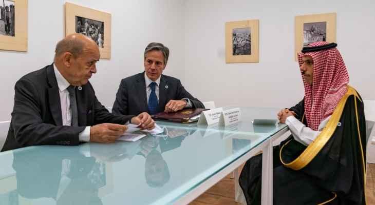 مرجع للجمهورية عن لقاء بلينكن وبن فرحان ولودريان: المهم مشاركة مسؤول سعودي للمرة الأولى بلقاء حول لبنان