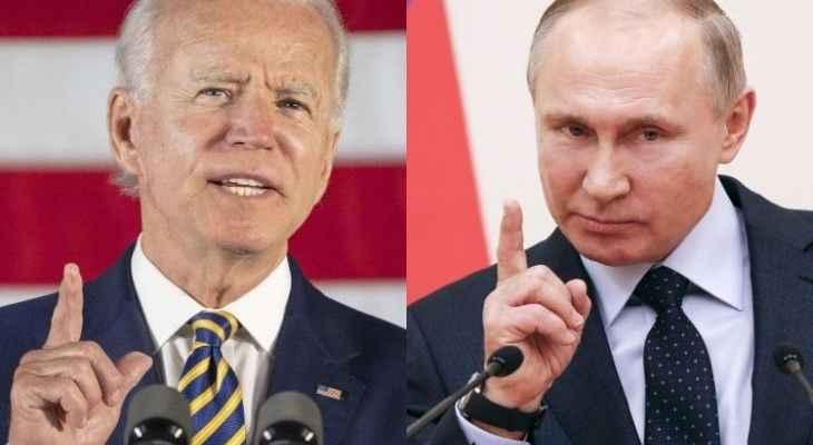 بايدن: لدينا فرص للتعاون مع روسيا بمجالات عدة ويجب أن تكون علاقتنا مستقرة