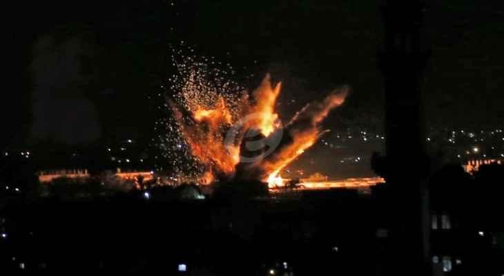 الجيش الإسرائيلي:استهدفنا اليوم 30 موقعا لاطلاق الصواريخ في غزة