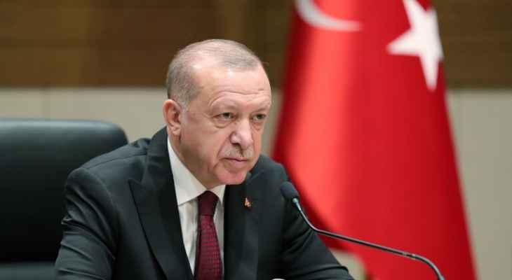 """أردوغان: سأبحث مع بايدن القضايا العالقة مثل طائرات """"إف-35"""""""