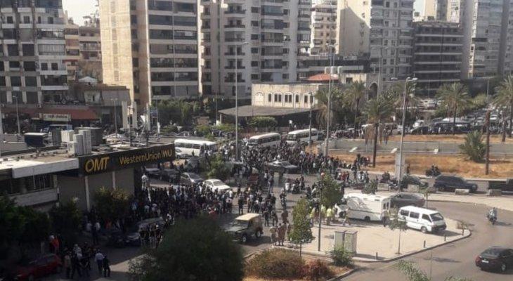 اطلاق نار في منطقة الطيونة اثر اشكال في المنطقة وانباء عن اصابات