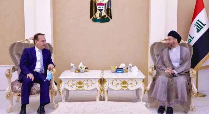 رئيس تحالف قوى الدولة الوطنية بالعراق بحث مع سفير لبنان ببغداد المصالح المشتركة