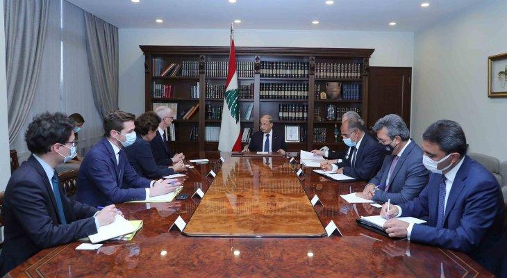 الرئيس عون لوزير التجارة الفرنسي: لبنان يتابع بامتنان الجهود التي يبذلها ماكرون لمساعدته على الخروج من الأزمة
