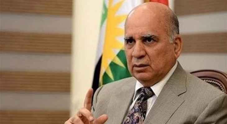وزير الخارجية العراقي: لإرسال المساعدات الإنسانية للشعب السوري بعيدا عن المتغيرات السياسية