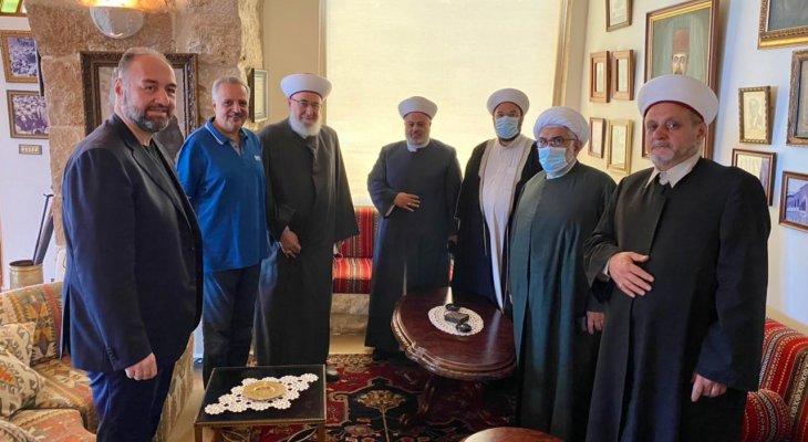 وفد تجمّع العلماء المسلمين زار ميقاتي: نتمنى أن تعمل كل القوى السياسية متعاونة لتشكيل حكومة