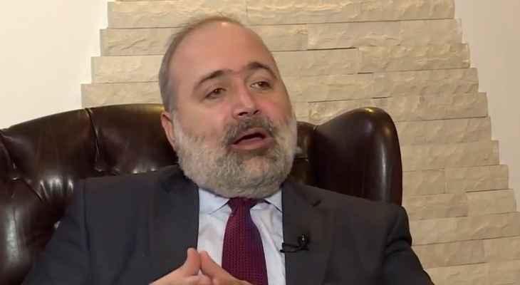 ألفرد رياشي أطلق الوثيقة الدستورية لدولة لبنان الفدرالي