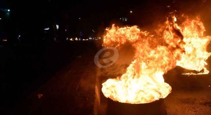 النشرة: إقفال مستديرة الأميركان في صيدا إحتجاجًا على انقطاع التيار الكهربائي