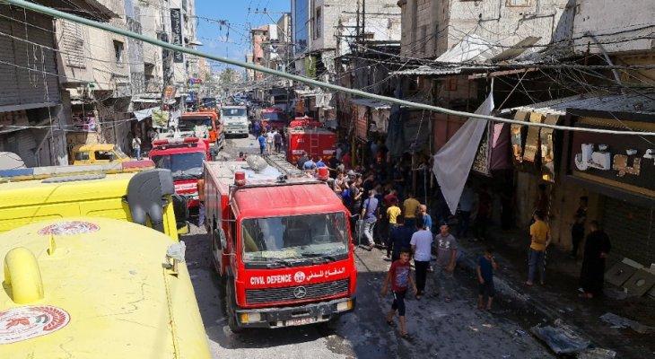 """وزارة الداخلية في غزة: قتيل و10 جرحى في """"انفجار غامض"""" وسط القطاع"""