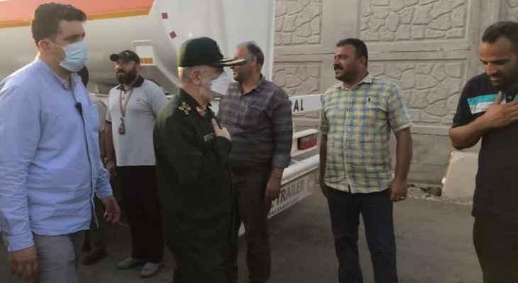 قائد الحرس الثوري الإيراني: محافظة خوزستان ليست مهمة فقط بل ومقدسة بالنسبة لنا