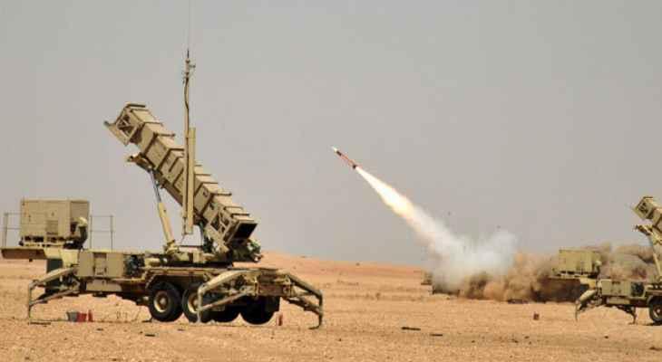 """التحالف العربي: اعتراض وتدمير طائرة بدون طيار أطلقها """"الحوثيون"""" باتجاه المنطقة الجنوبية بالسعودية"""