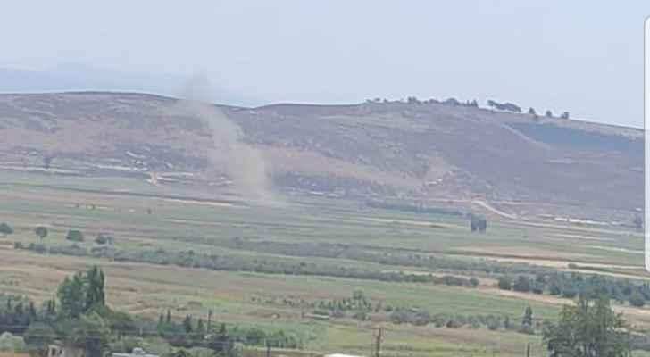 """""""النشرة"""": سقوط ست قذائف مدفعية على سهل مرجعيون مصدرها الجيش الإسرائيلي"""