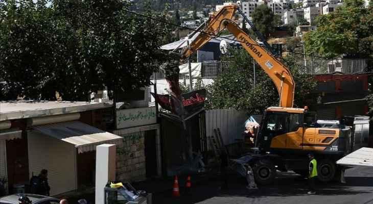 الأمم المتحدة دعت إسرائيل لوقف عمليات الهدم والإخلاء بالقدس