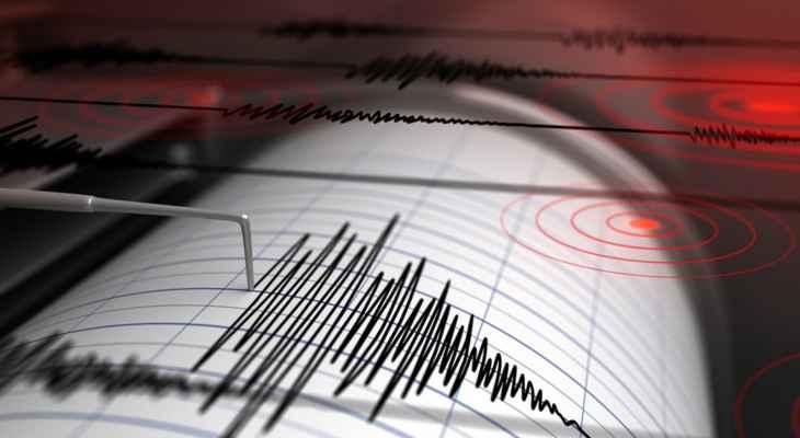 زلزال بقوة 5.2 درجة ضرب ولاية بينغول شرقي تركيا