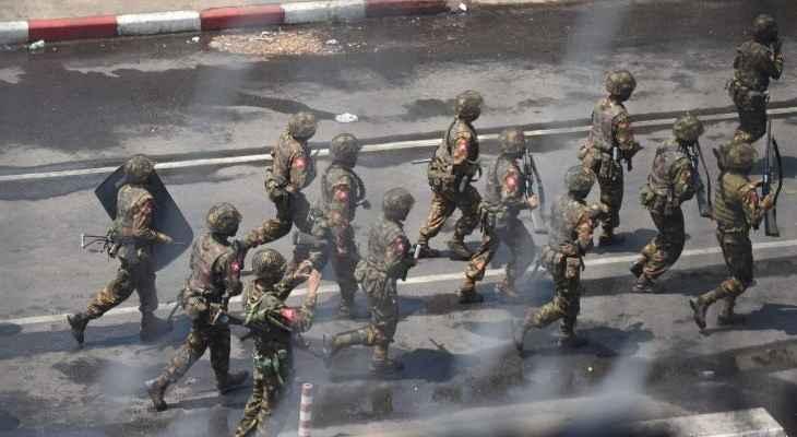 المعارضة المسلحة في ميانمار أعلنت قتل العشرات من عناصر الجيش