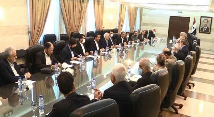 المقداد لوفد إيراني: العلاقات السورية- الإيرانية أصبحت نموذجا يحتذى بكل المجالات