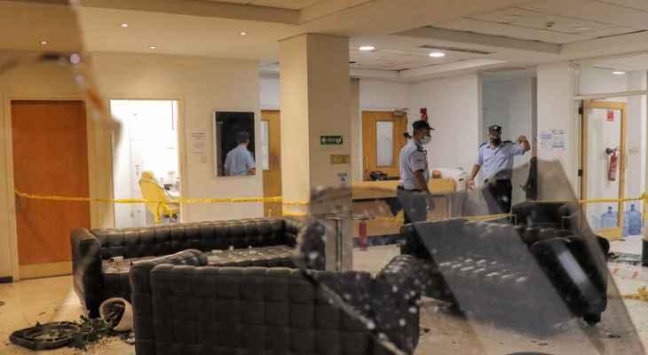 """""""سيغما تي في"""": محتجون على قيود إحتواء """"كورونا"""" يهاجمون محطة تلفزيونية في قبرص"""