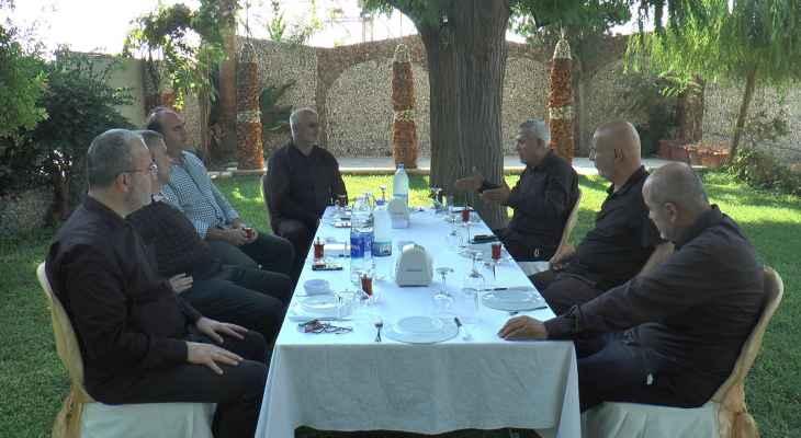 لقاء في الجنوب بين قيادتي حزب الله وحركة امل ناقش موضوع المياه