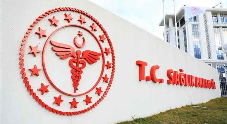 """تسجيل 46 وفاة و6285 إصابة جديدة بـ""""كورونا"""" في تركيا خلال الـ24 ساعة الماضية"""