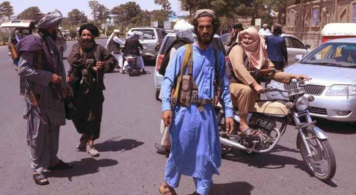 """""""طالبان"""": خبراء من تركيا وقطر وصلوا مطار كابل"""
