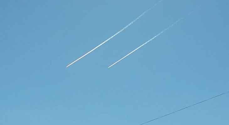 الطيران الحربي الإسرائيلي يحلق في أجواء منطقة أعالي كسروان
