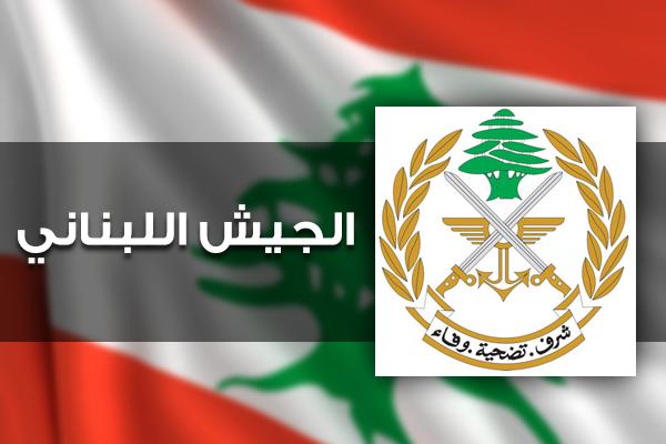 الجيش: توقيف 7 أشخاص وضبط 6 آليات محملة بمحروقات معدة للتهريب لسوريا