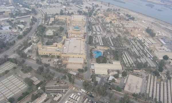منظومة الدفاع الجوي في السفارة الأميركية في بغداد تسقط طائرة مسيرة