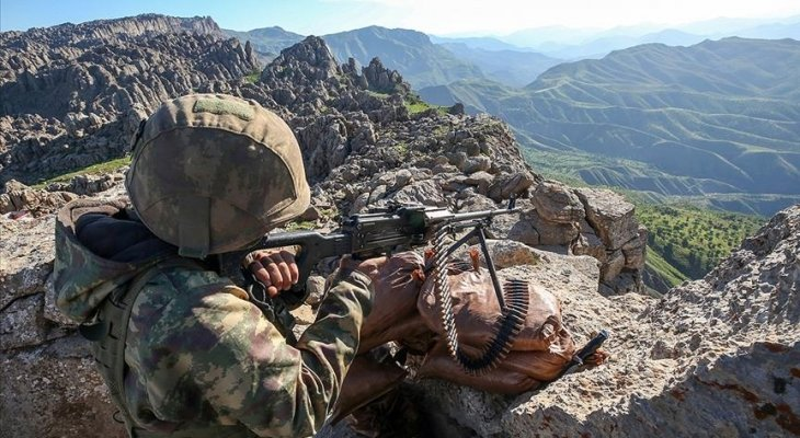"""الدفاع التركية: مقتل جنديين خلال اشتباكات مع مسلحي """"بي كا كا"""" شمالي العراق"""