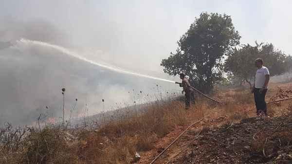 أهالي جرود الهرمل ناشدوا المعنيين في قيادة الجيش التدخل السريع لمواجهة الحرائق في المنطقة